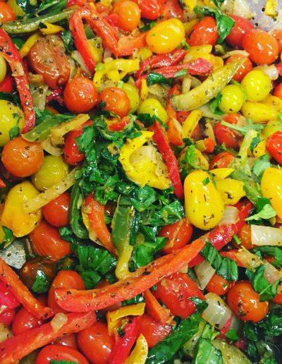 Poêlée de Légumes | Restaurant l'Oriel à Arles