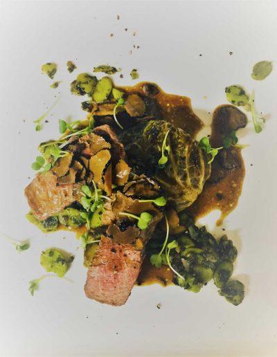 Veau Truffe Chou Farci | Restaurant l'Oriel à Arles