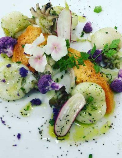 Soupions Melons Rôties | Restaurant l'Oriel à Arles