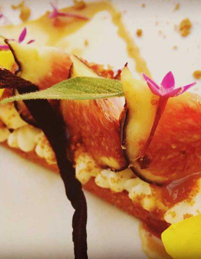 Tarte fine aux Figues de Sollies | Restaurant l'Oriel à Arles