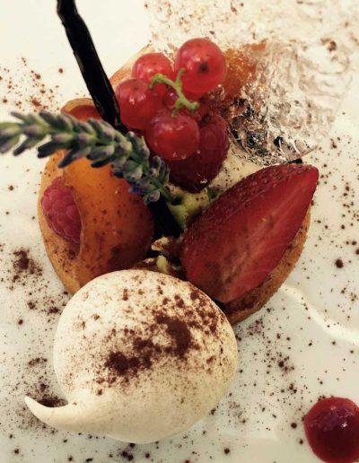 Tartelette aux Fruits | Restaurant l'Oriel à Arles