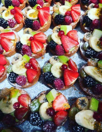Tartelettes aux Fruits | Restaurant l'Oriel à Arles
