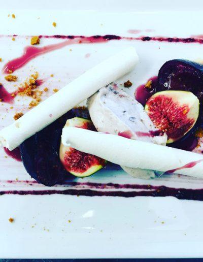 Dessert Figues Rôties | Restaurant l'Oriel à Arles