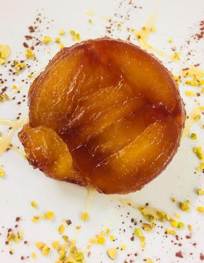 Dessert Tarte Tatin | Restaurant l'Oriel à Arles